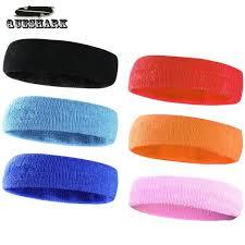 headband sports men women sport headband hairband stretchy sweatbands