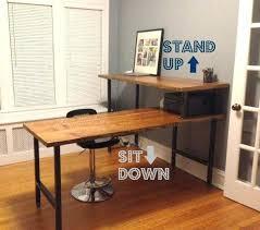 rustic l shaped desk modern l shaped computer desk rustic l shaped computer desk best
