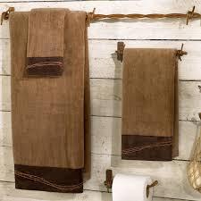 cowboy bathroom ideas western bath towels at lone western decor