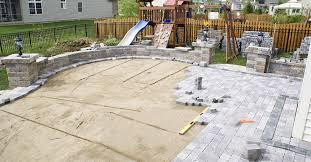 Installing A Patio With Pavers Concrete Patio Installation Khabars Net
