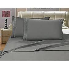 Best Thread Count For Bedding Amazon Com Elegant Comfort 1500 Thread Count Luxury Egyptian