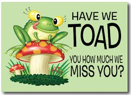 i miss you cards we will miss you cards we miss you postcard pc7058 harrison