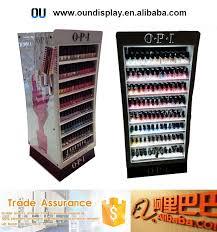 wholesale yiwu opi nail polish display stand 4 tiers nail polish
