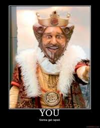 King Meme - image 25065 you gonna get raped know your meme