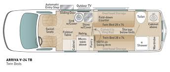 class b rv floor plans luxury small motorhomes fuel efficient class b rvs coach house