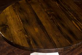 how to stain pine table reclaimed pine barnwood table top medium stain the treasure place