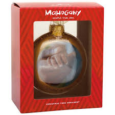 our family blown glass hallmark ornament specialty ornaments