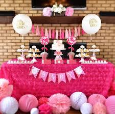 pink baby shower 34 unique baby shower decoration ideas cheekytummy