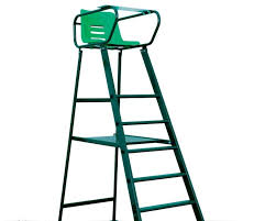 tennis umpire chair br court royal deluxe green