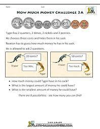 challenge math worksheets emmacarrolletc