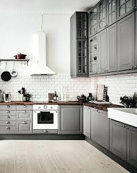 Grey And White Kitchen Ideas Grey And White Kitchen Glassnyc Co