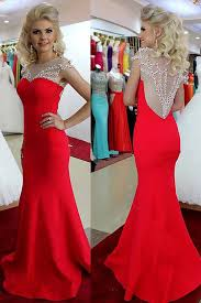 169 99 long trumpet mermaid straps chiffon red prom dresses 2017