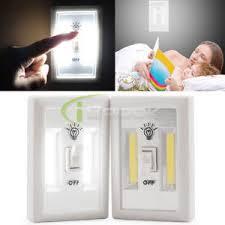 1 2 5 pack cob led wall switch wireless closet cordless