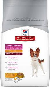 science diet light dog food hill s science diet small toy breed light dry dog food 15 5