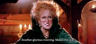 Hocus Pocus Meme - waking up with a hangover gif on imgur