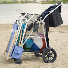 Rolling Beach Chair Cart Rio Extra Wide Backpack Beach Chair Hayneedle