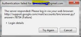 Gmail Login Mail How To Fix Authentication Failed For Gmail Account Error In Opera