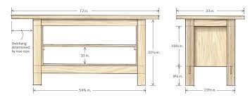 Ideal Woodworking Workbench Height by 100 Wood Workshop Table Plans Diy Ultimate Workbench Table