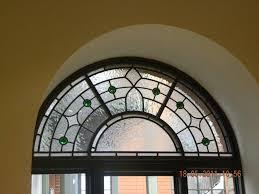 semi circle stained glass windows google search glass art