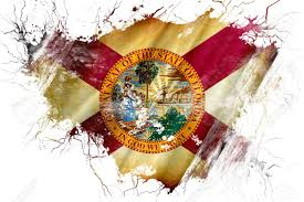 Florida Flag Facts Grunge Old Florida Flag Stock Photo Picture And Royalty Free