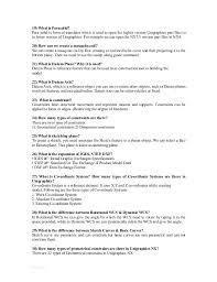 nx questions