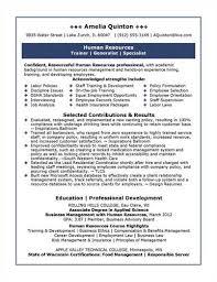 Hr Generalist Sample Resume by Hr Generalist Responsibilities And Achievements