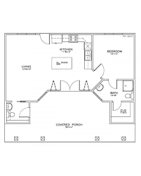 one bedroom one bath house plans amazingplans com house plan ph 327d pilings cabin