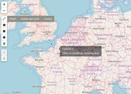 Google Maps Measure Distance R Leaflet Extras Measure Distance In Metres Stack Overflow