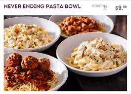 Olive Garden Never Ending Pasta Bowl Is Back - f r e e olive garden never ending pasta bowls for the whole family
