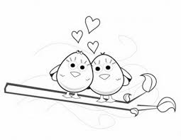 spring love birds coloring pages free 587545 coloring pages