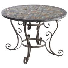 Mosaic Dining Room Table Verazze 43