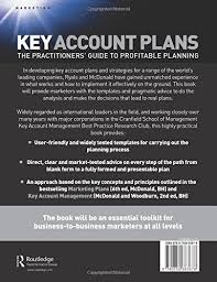 key account plans lynette ryals malcolm mcdonald 9780750683678
