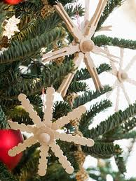 popsicle stick snowflake ornament pictures photos and images for