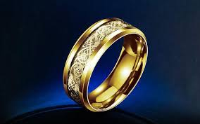 ring gold titanium ring ancient explorers