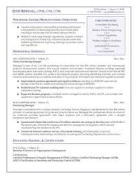 Resume Sample For Production Manager Cover Letter Cv Sales Manager Example With Production Examples 25