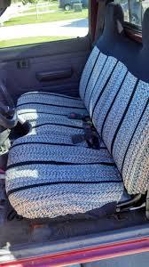 sell toyota small pickup saddle blanket seat cover u2013 black