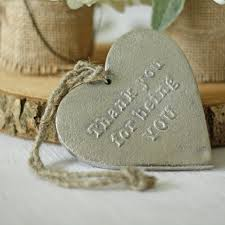 silver heart thank you for being you gift u2013 the wedding of my dreams