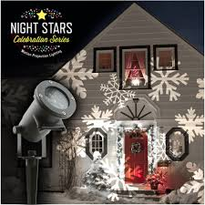 Christmas Outdoor Light Projector by Night Stars Holiday Light Projection Asseenontv Com Store