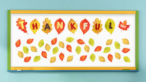 free thanksgiving printable banner for the classroom weareteachers