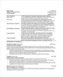Clinical Trial Manager Resume Sample Healthcare Resume 7 Examples In Word Pdf