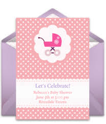 free baby shower invitations punchbowl