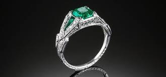 genuine art deco engagement rings melbourne james alfredson