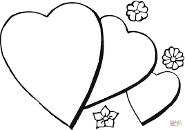 romantic coloring page free printable coloring pages