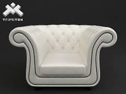 Chesterfield Style Armchair Style Armchair 3d Model