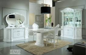 white italian high gloss dining table and chairs u0026 furniture set
