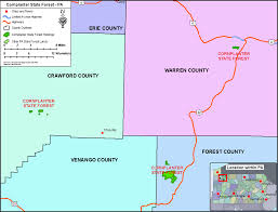 Michaux State Forest Map by Cornplanter State Forest Wikipedia