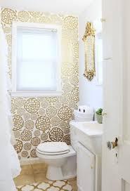 gold bathroom ideas gold glam bathroom makeover