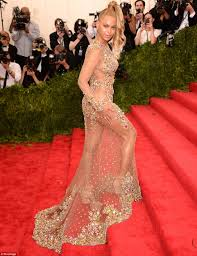 nude pics of demi moore beyonce wows in nothing but crystals in body hugging sheer gown