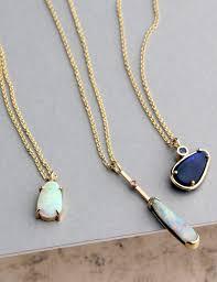 opal pendant necklace australia images Gold australian black opal pendant necklace e g etal melbourne jpg