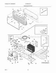 frigidaire lgub2642lf3 parts list and diagram ereplacementparts com